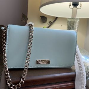 Authentic Kate Spade smooth leather chain Crosby🍃